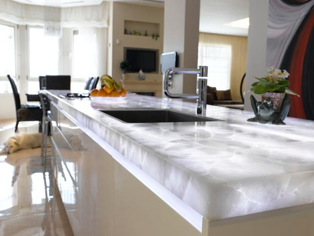 Quartz Countertops Made Of