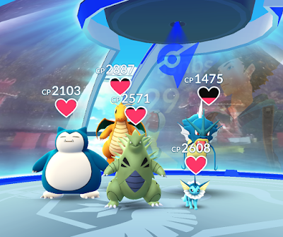 Pokemon Go App new gym