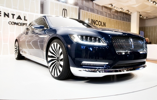 2016 Lincoln Continental Price Tag