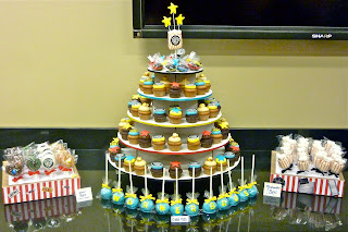 Warner Bros. Movie Themed Dessert Table