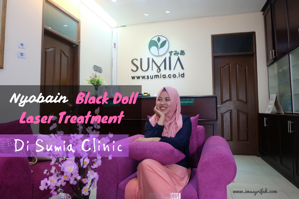 Nyobain Black Doll Laser Treatment di Sumia Clinic