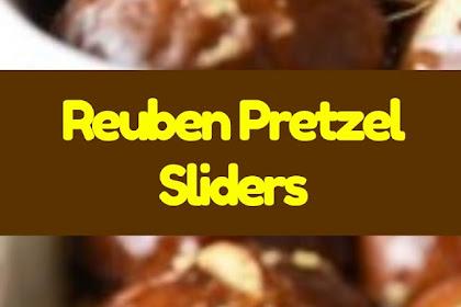 Reuben Pretzel Sliders