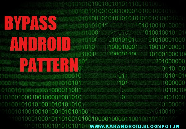 Bypassing Android Pattern/Password/Pin (USING ADB)