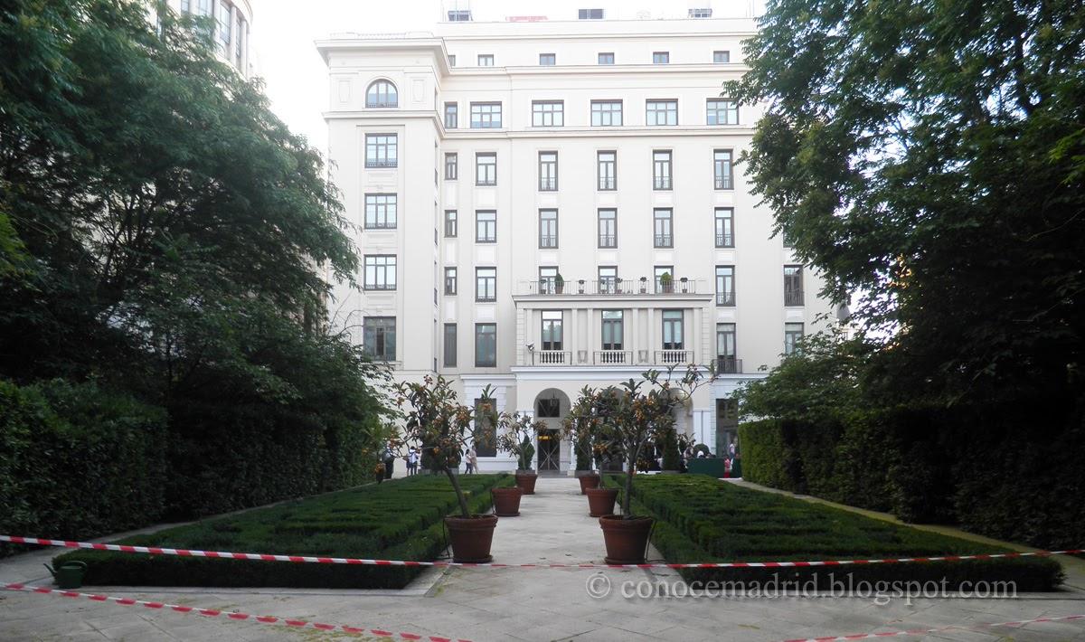 Conocer Madrid Jardín Del Marqués De Casa Riera