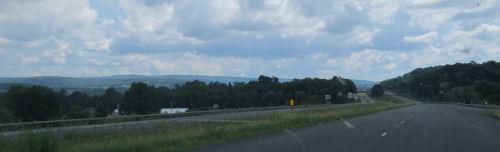 western New york hills