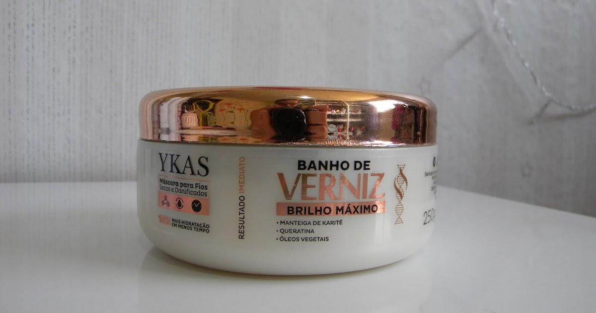 Tem Na Web - Açucarando: Ykas Banho de Verniz Máscara Brilho Máximo!