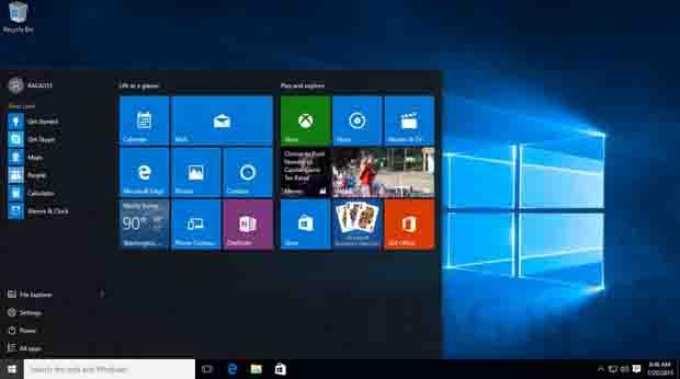 Microsoft Luncurkan Windows 10 Tidak 9