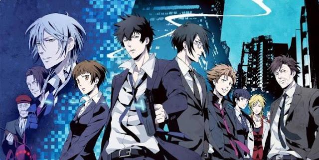 Anime dengan Karakter Utama Cool Psycho-Pass