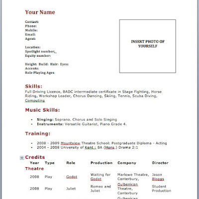 Resume Setup Example. Up A Resume Resume Setup Examples Sample