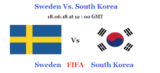 Sweden VS South Korea Satellite