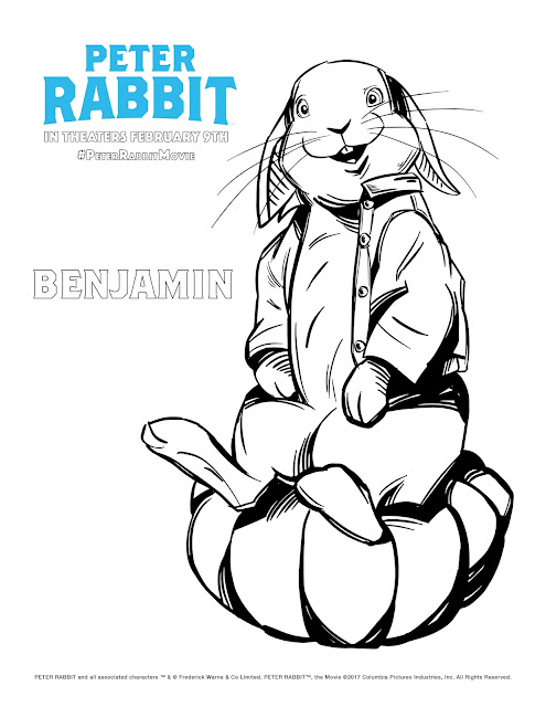 Beatrix Potter, Peter Rabbit Activity Pages, Peter Rabbit Coloring Sheets
