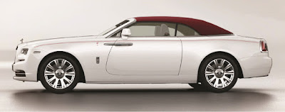 Rolls-Royce Dawn Fashion Inspired special edition side view