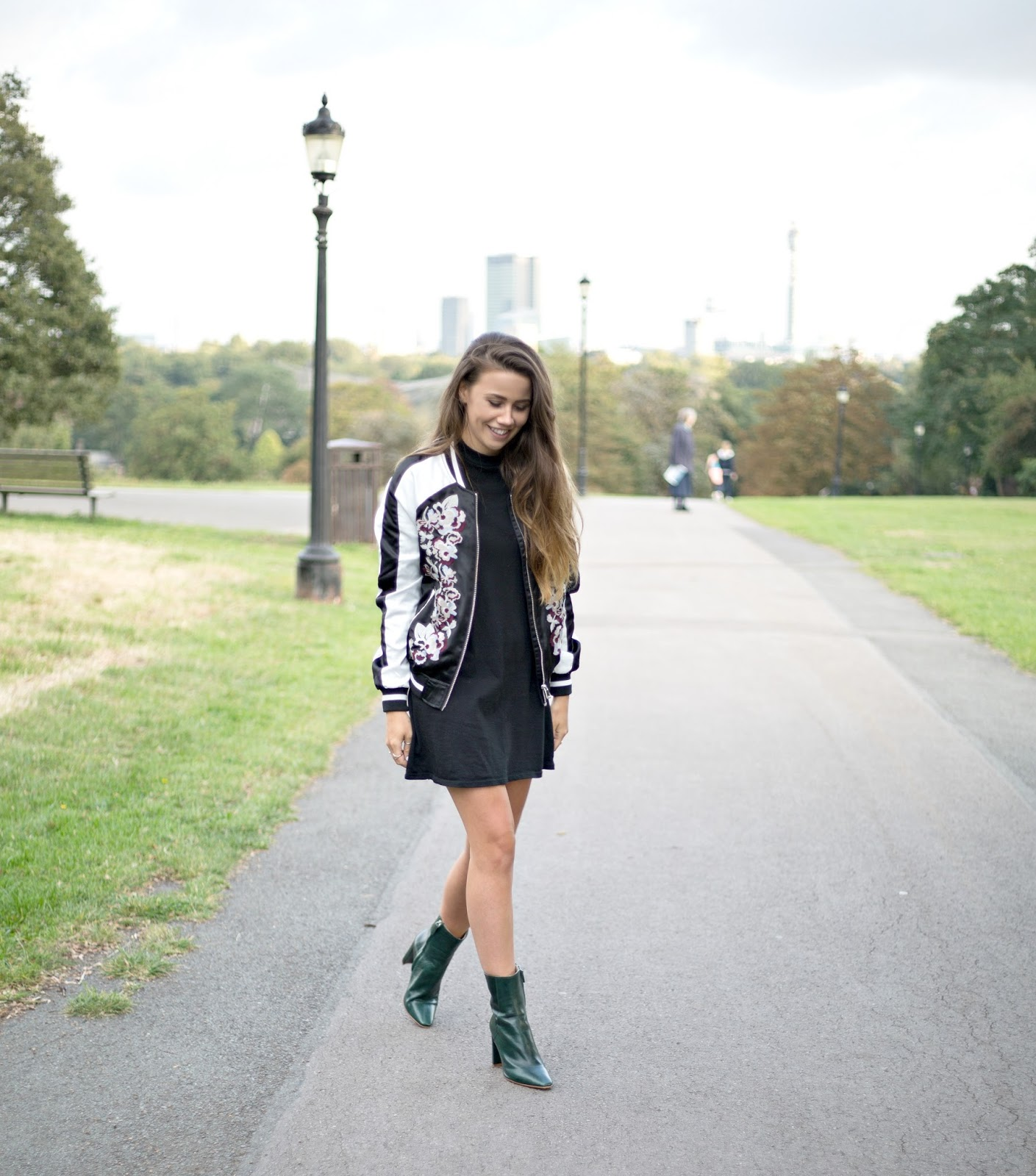 fashion and lifestyle blogger uk, green ankle boots