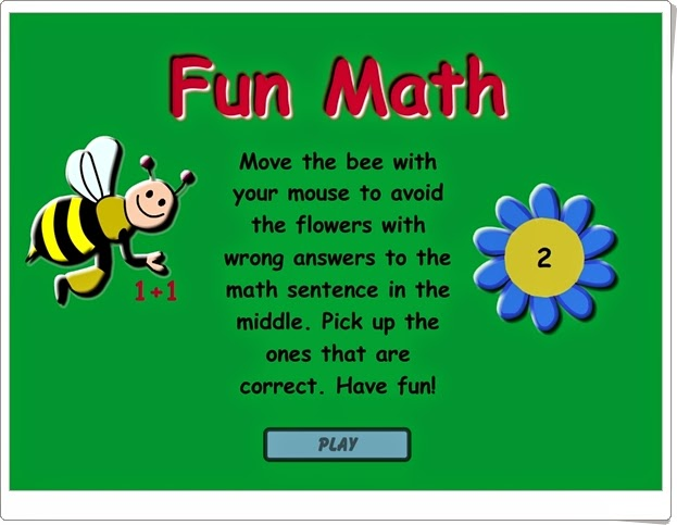 """""""Fun Math"""" (Juego de iniciación a la suma)"""
