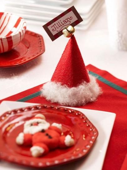 Natale e dintorni segnaposto natalizi fai da te for Idee fai da te