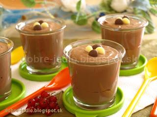 Čokoládový termix - recepty