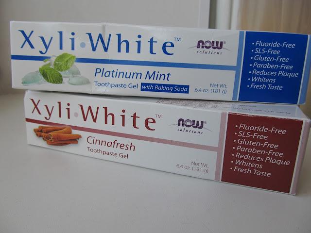 Упакування зубних паст Xyli-White Now Foods