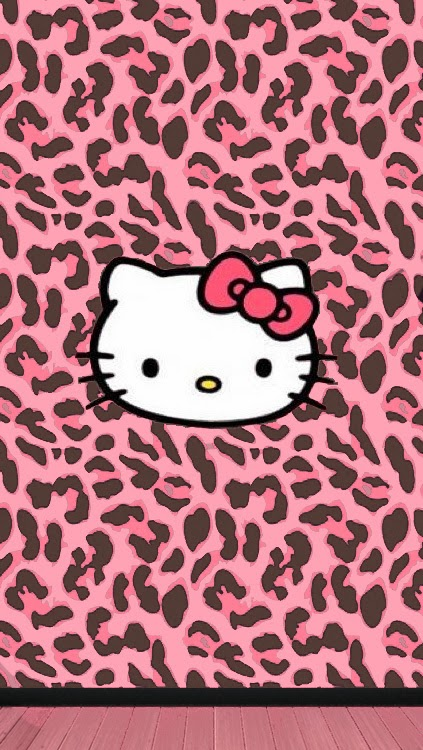 Love Pink Pink Brown Leopard Wallpaper Free
