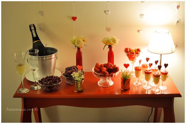 mesa romântica
