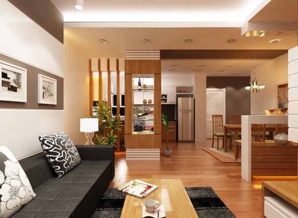Thiết kế nội thất căn hộ tạiNam Cường Building