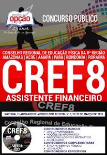 Apostila CREF8 ASSISTENTE FINANCEIRO