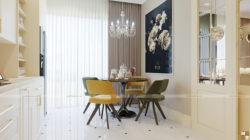 Thiết kế nội thất căn hộ 120m2 sang trọng, tiện nghi - H3