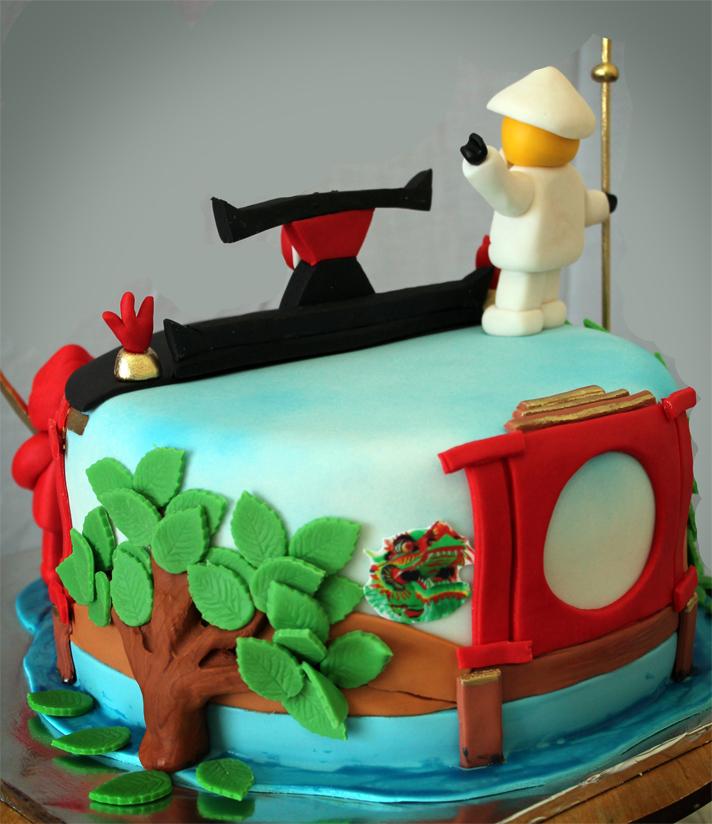 Delana S Cakes Lego Ninjago Cake