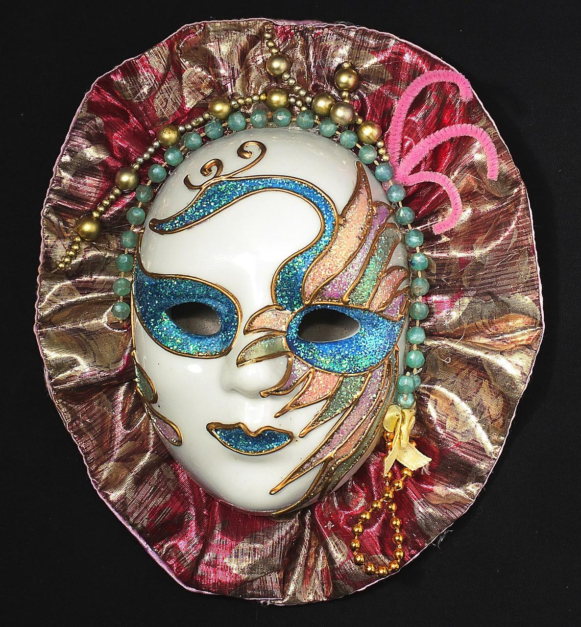Wohl Bekannteste Historische Nutzung Von Masken Ist Im Rahmen Des Venezianischen Karnevals Der Bereits Seit Dem Jahr 1094 Bekannt War