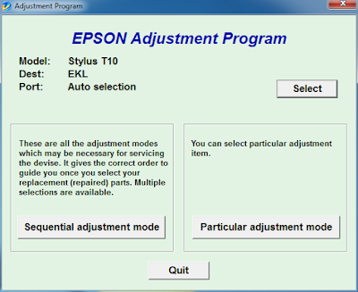 Download Resetter Epson T10 T11