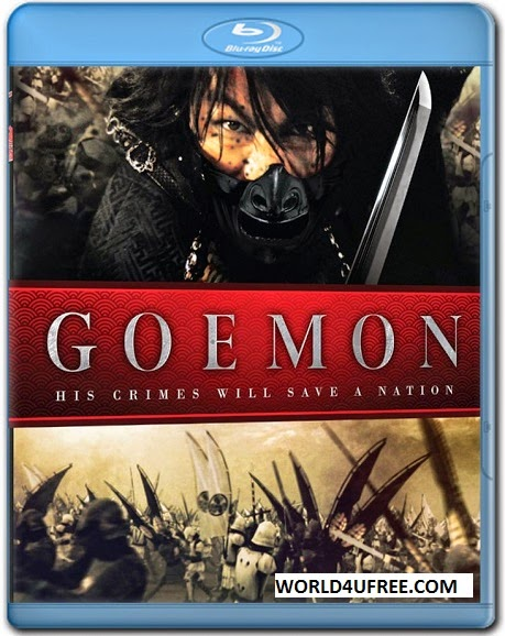 Goemon 2009 Hindi Dubbed 300mb BRRip 480p, Japnese movie hindi dubbed bluray brrip 480p compressed small size 300mb free download or watch online at world4ufree.pw