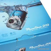 Canon PowerShot D10 Shockproof / Waterproof Reference