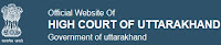 High Court of Uttarakhand, Govt. of Uttarakhand, UK, high court, Stenographer, Personal Assistant, Graduation, freejobalert, Sarkari Naukri, Latest Jobs, uk high court logo