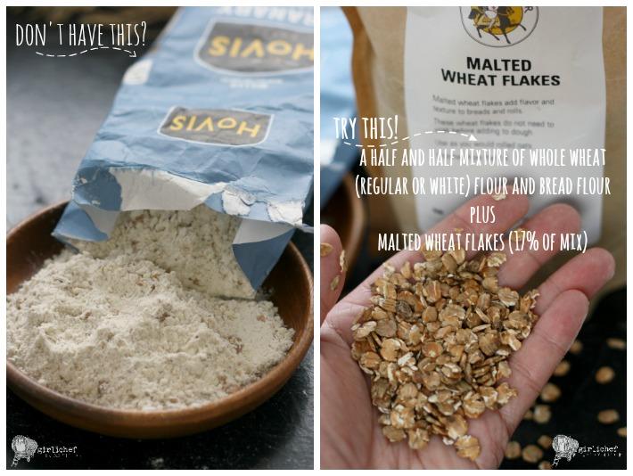 granary flour substitute