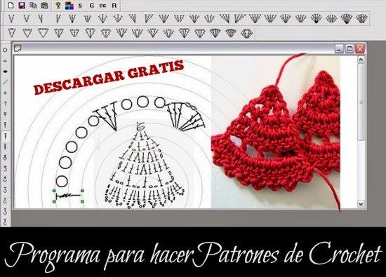 programa, crochet, bisutería, software, patrones, gráficos