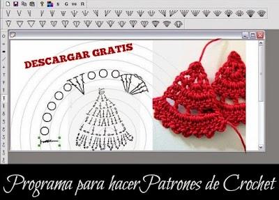 Programa para Patrones de Crochet Plantillas