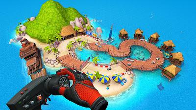 Mini Motor Racing X Game Screenshot 1