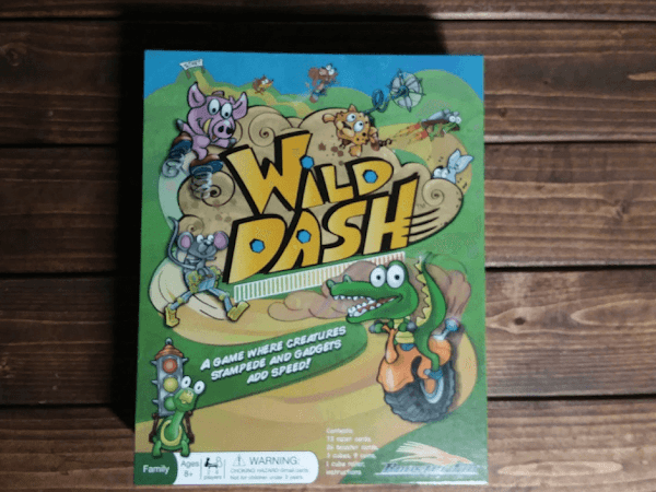 Family Game Night Part 2- Wild Dash by #RoosterFinGames