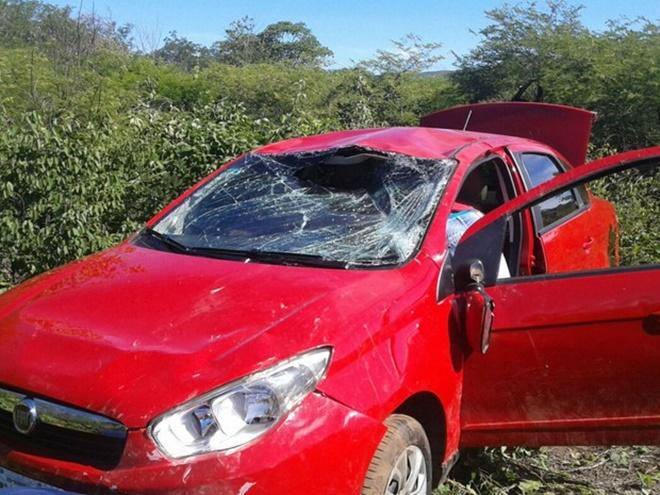 Vereador de Barreiras e família sofrem acidente no município de Ibotirama