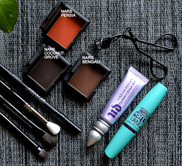 Weekend Ramblings A Warm Brown Eye Makeup Look For The Day