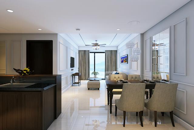 Cho thuê căn hộ Luxury Apartment