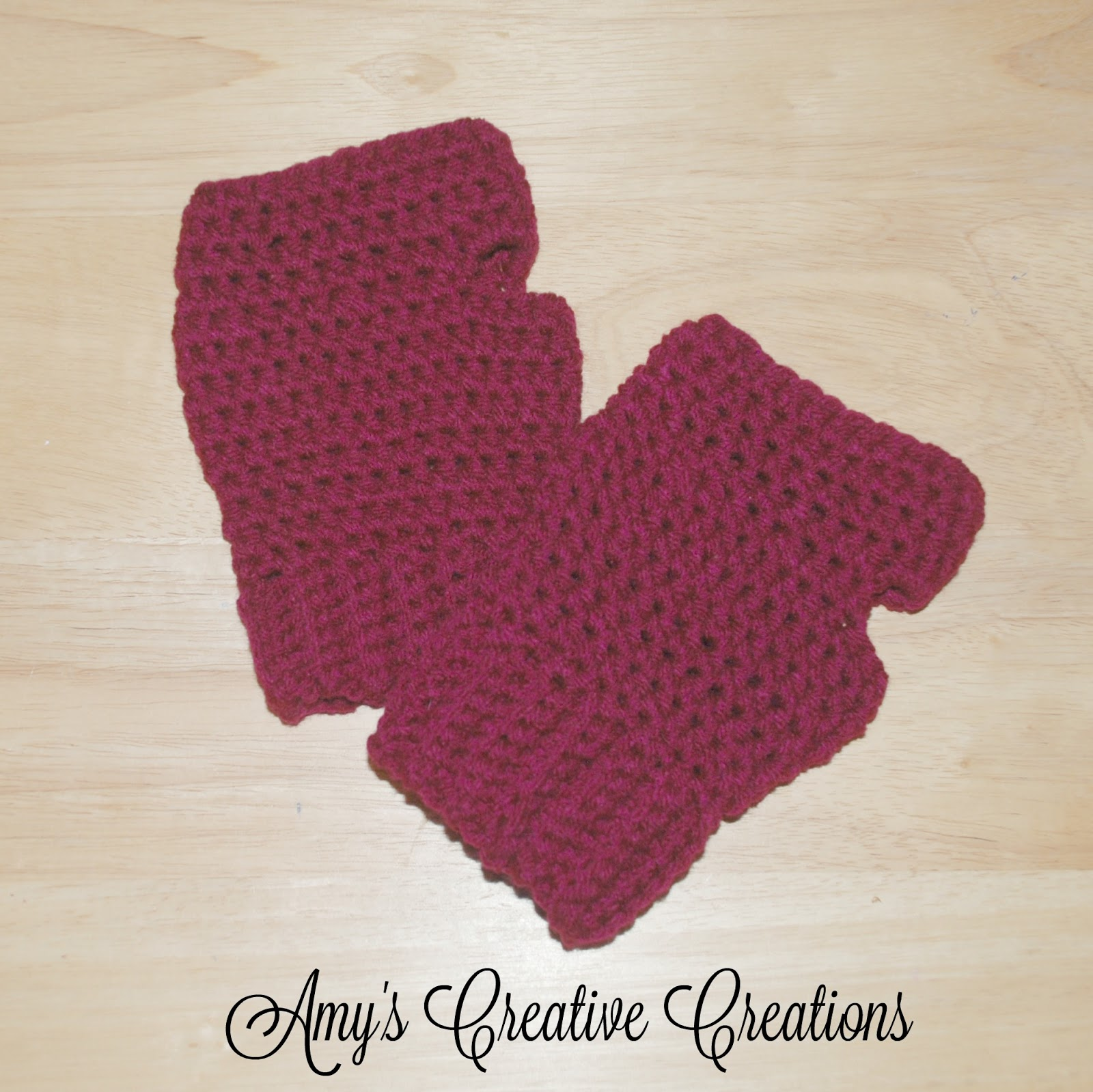 Amys Crochet Creative Creations Crochet Fingerless Gloves Tutorial