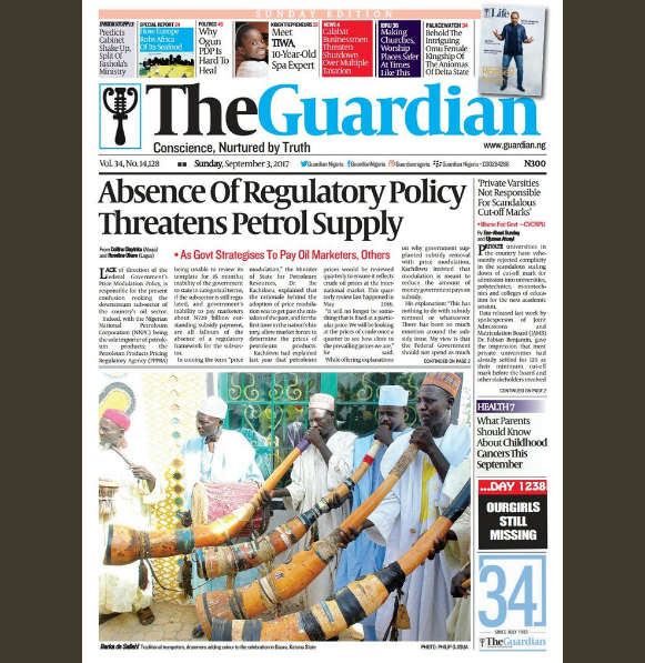 nigerian newspapers online the nation