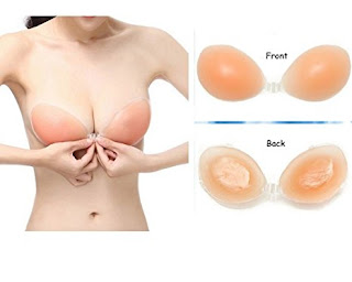 Silicone Stick-on Bra - Amazon.co.uk