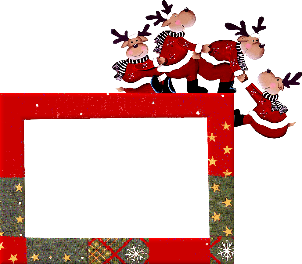 Marcos navide os para la foto de tus hijos for Decoracion marcos fotos