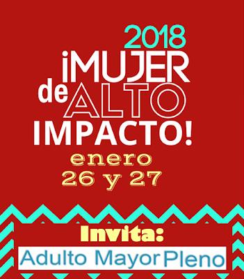 Invitación Mujer de Alto Impacto 2018