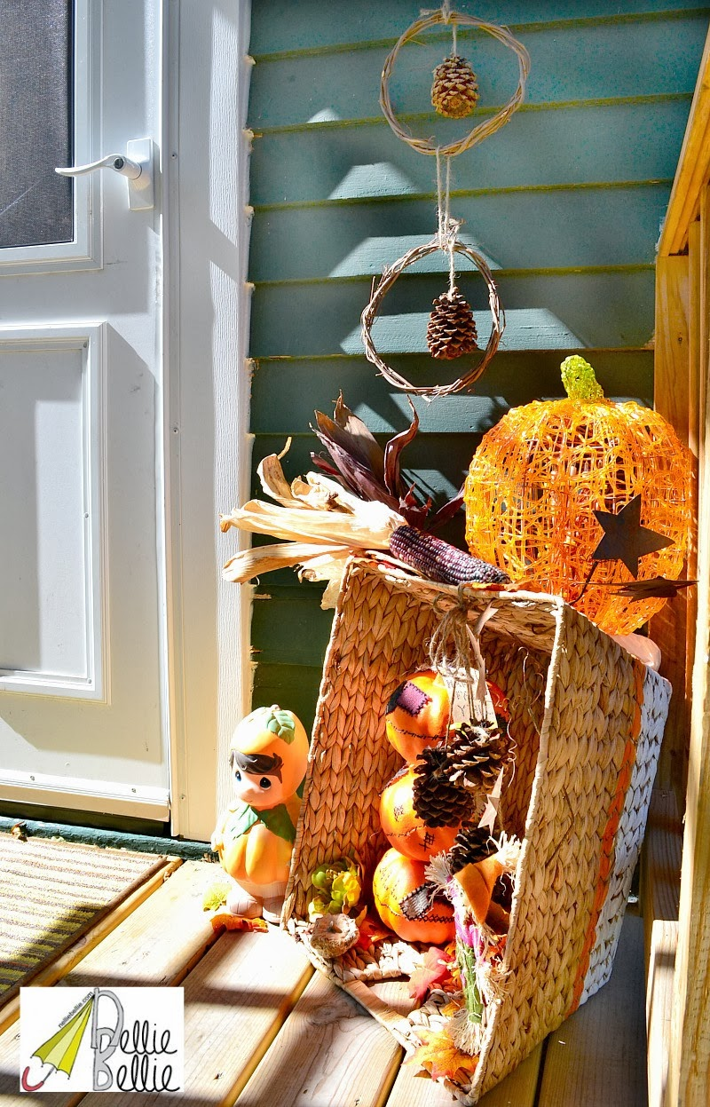 25+ Outdoor Fall Decor Ideas - The Cottage Market on Patio Lights Decorating Ideas id=53585