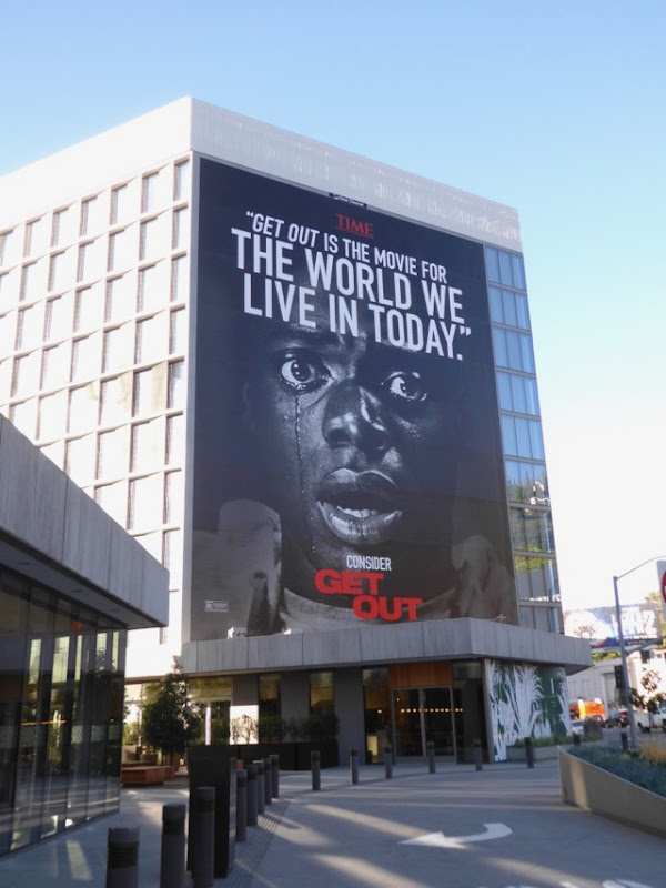 Giant Get Out movie consideration billboard