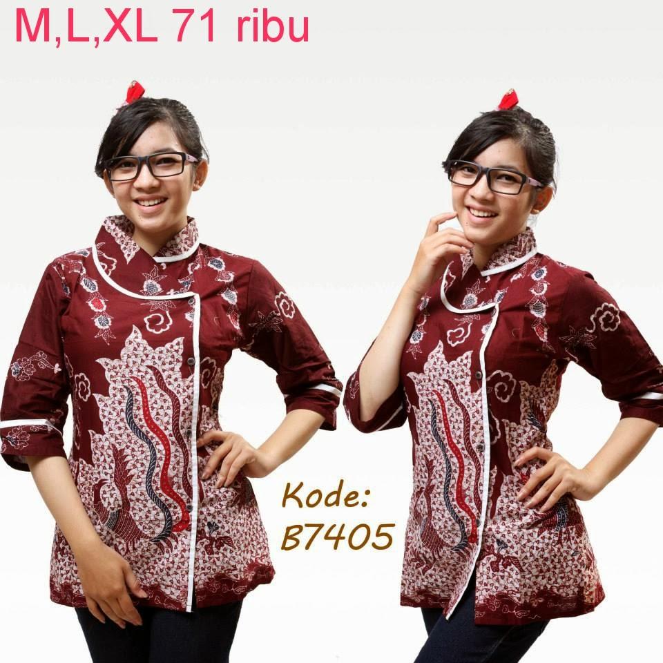Referensi Model Batik Kerja: Konveksi Seragam Batik: Contoh Baju Seragam Karyawan