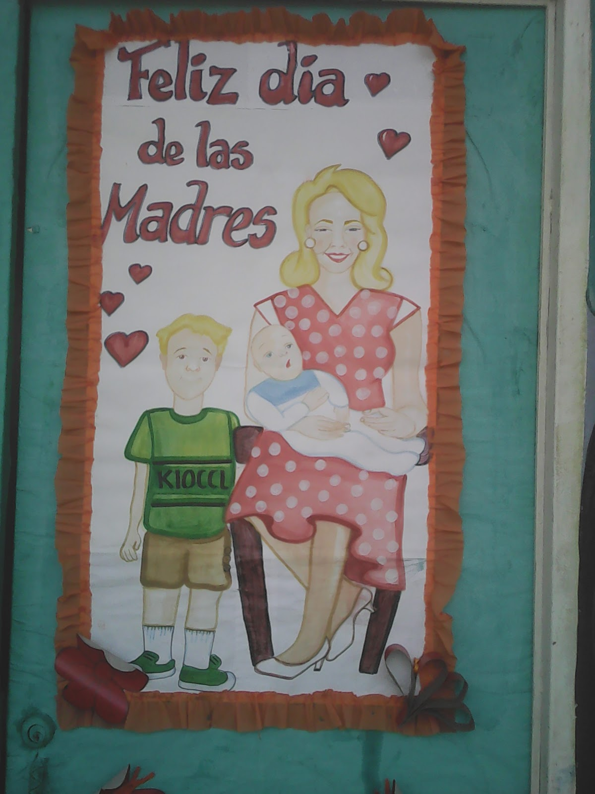 Cajitas de sue os puertas decoradas para el dia de las madres for Puertas decoradas dia del libro