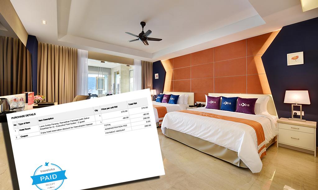 Cuti Santai Ramadan Lexis Suites Hanya RM290